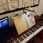 Klavierunterricht-Setting
